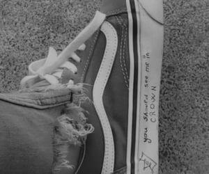 black, Lyrics, and shoes image