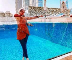 modest swimwear, hijabi swim-wear, and burkini swimming suits image