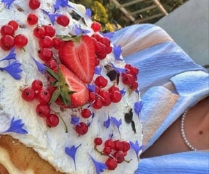 cake, food, and spring image