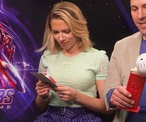 Avengers, paul rudd, and Scarlett Johansson image