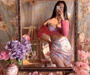 aesthetic, art, and pink image
