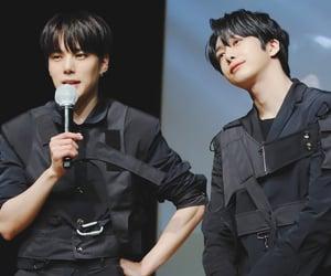 boys, minhyuk, and hyungwon image