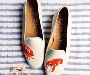 ballet flats, fashion, and lobster image