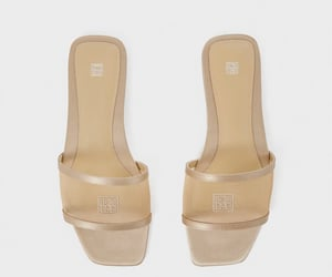 beige, sandals, and shoes image