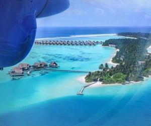 ocean, Maldives, and sea image