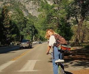 aesthetic, bike, and vintage image
