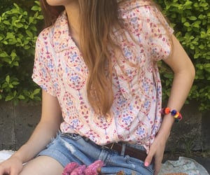 hippie, moda, and outfit image