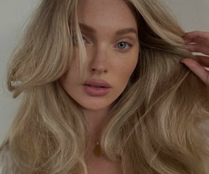blondie, elsa hosk, and model image