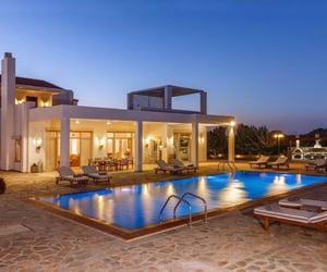 architecture, interior design, and villa image