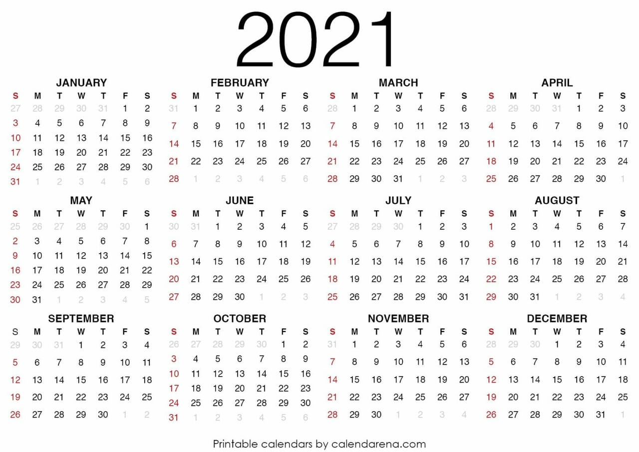 article and september 2021 calendar image