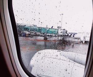 airport, Flying, and gate image