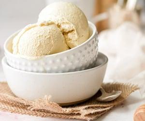 dessert, food, and honey image