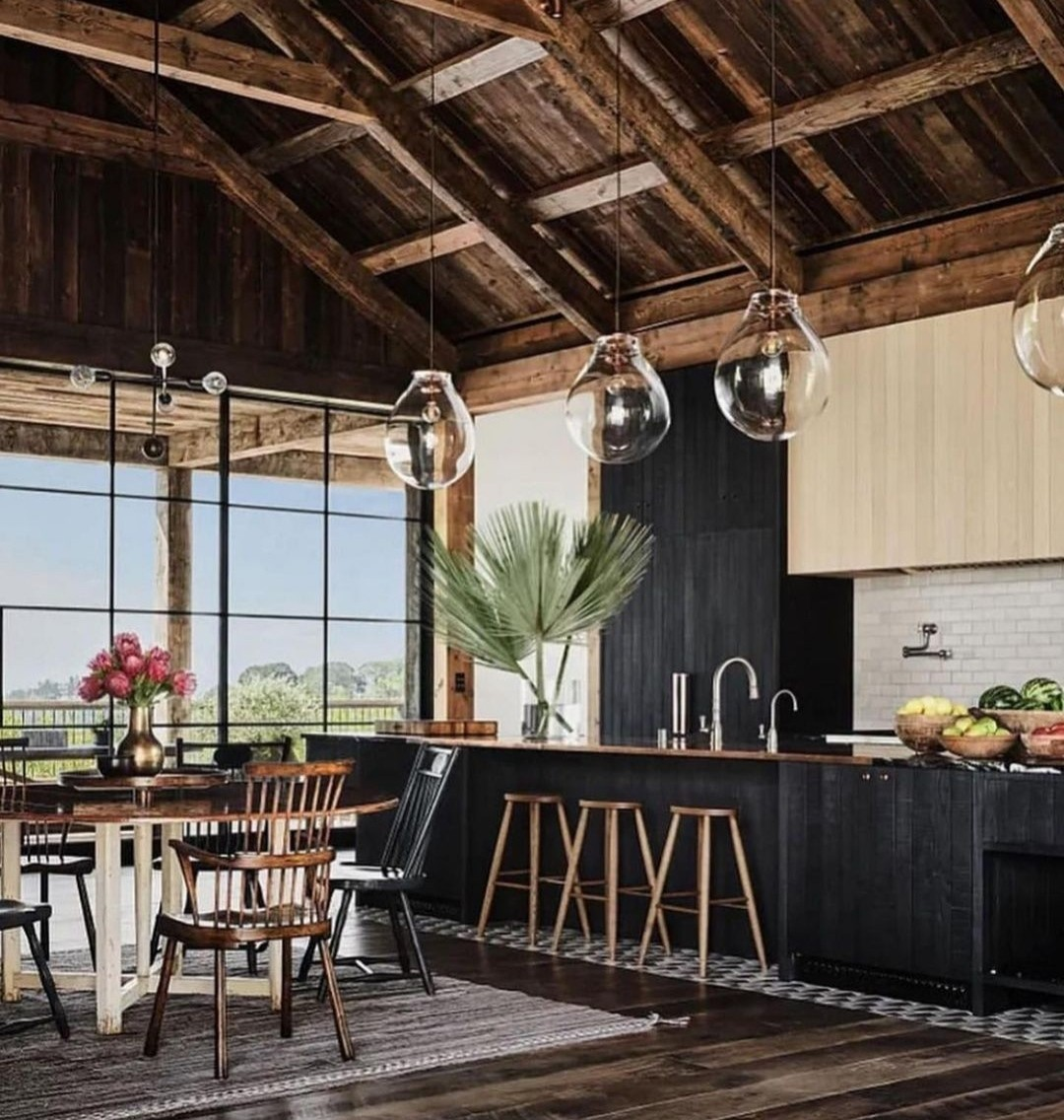 Architectural Digest, ashton kutcher, and barn image