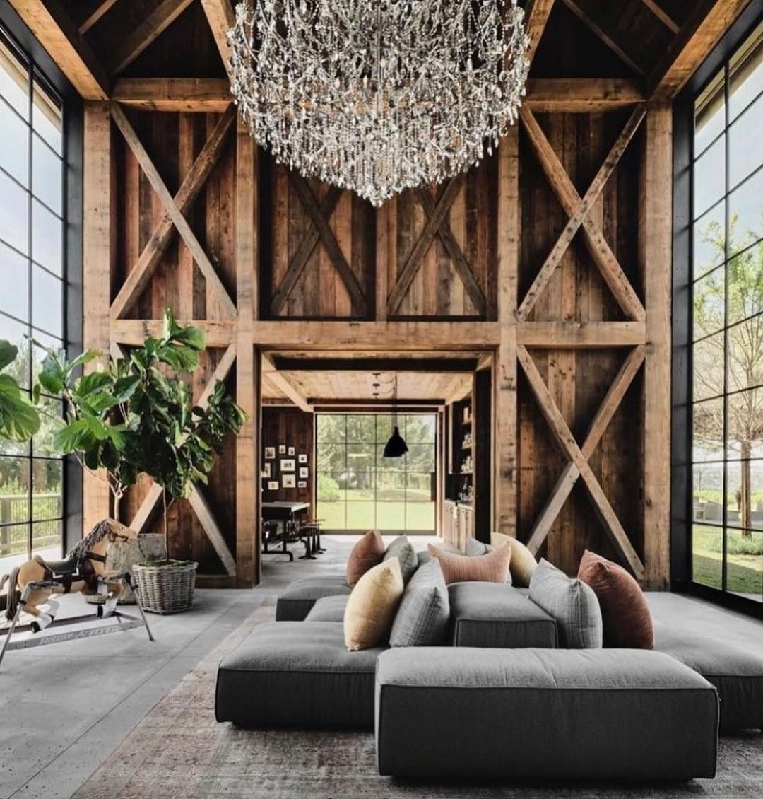 ashton kutcher, home, and interior design image