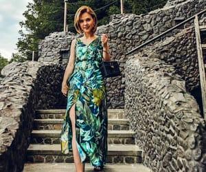floral dress, Zara, and summer image