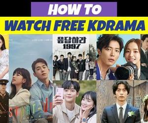 Korean Drama, kdramas, and dramafever image