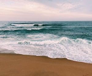 aesthetics, background, and beach image