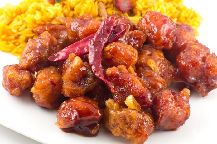 article, chinese food, and american food image
