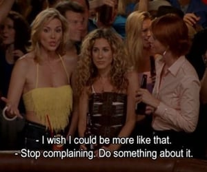 Carrie Bradshaw, advise, and do image