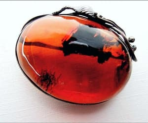 Baltic Honey Amber Brooch-Pendant Sterling Silver Floral image 0