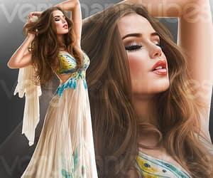fashion, lady, and summer image