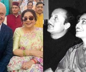 bollywood, bollywood actress, and anupam kher image