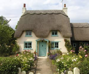 cottage, architecture, and cottagecore image