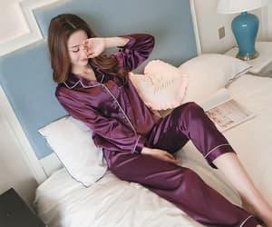 pajama sets for women, cotton pajama sets, and ladies pyjama sets image