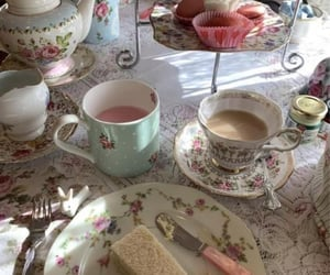 aesthetic, food, and afternoon tea image