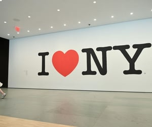 city, new york, and i love n y image