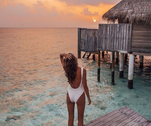 Dreamy view and body