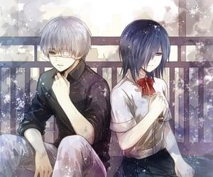 anime, ken, and kaneki image