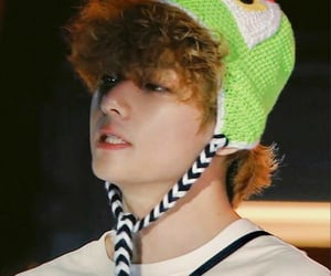frog, bts, and hat image