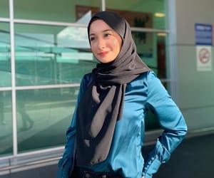 blouse, hijab, and muslim image
