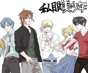 usagi tsukino, genderbend, and minako aino image