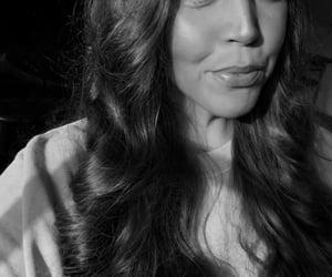 curls, golden, and selfie image