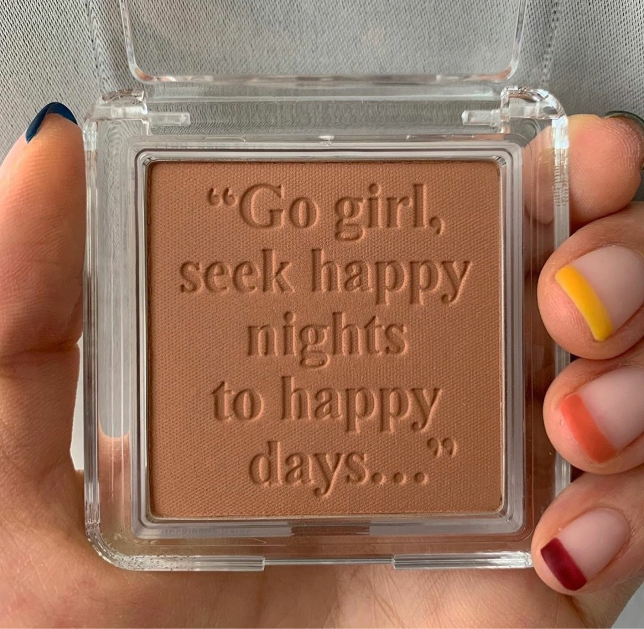 girl, nails, and quotes image