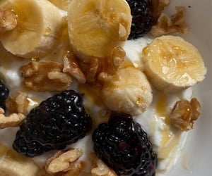 banana, blueberry, and cranberry image