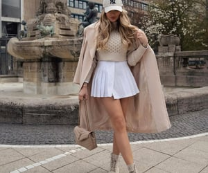 bag, combat boots, and fashion blogger image
