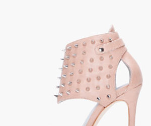 high heels, pink, and pumps image