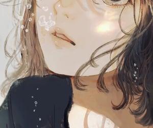 agua, anime, and cute girl image
