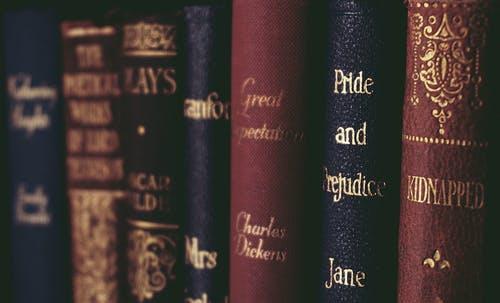 books, classic, and jane austen image