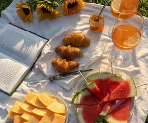 picnic, fruit, and food image