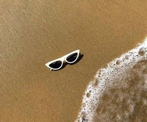 aesthetics, beach, and white image