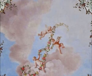 aesthetics, angels, and sky image