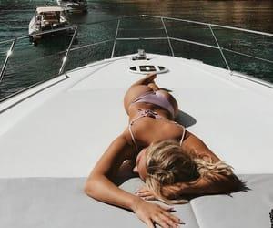 bikini, ocean, and summer image