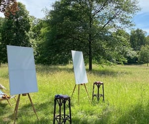 art, painting, and summer image