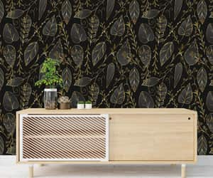abstract, jungle wall decor, and removable wallpaper image