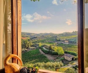 country, nature, and italy image