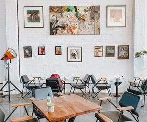 baghdad, decor, and restaurant image
